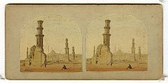 Frith, Francis (1822-1898) - Views in Egypt and Nubia - n. 395 - Tomb of the Memlock Kings at Cairo.jpg