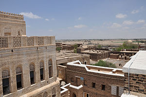 Zabid - Image: From the Imam's guesthouse (8682268943)