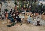 Frukost under ferian i Granada - Hugo Birger.JPG