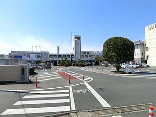 Fujioka, Gunma City in Kantō, Japan