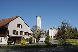 The Catholic church in Fulenbach village