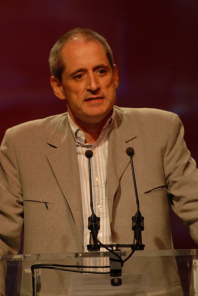 Gérard Onesta - Cohen's rallye, Toulouse town election, 2008 1261.jpg