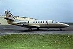 G-DJBI Cessna Citation II CVT 01-05-80 (24649034098).jpg