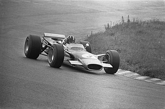 1968 Spanish Grand Prix - Hill (pictured at the Dutch Grand Prix) won his first race in two-and-a-half years