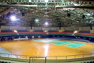 Gachibowli Indoor Stadium - Image: Gachibowli Indoor 09