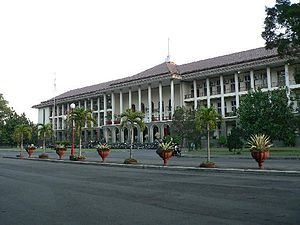 Gadjah Mada University - Balairung, home of the university's central administration offices