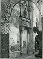 Galatina chiesa di Santa Caterina monumento di Giovanni Antonio Orsini del Balzo xilografia di Richard Brend'amour.jpg