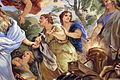 Galleria di luca giordano, 1682-85, Minerva protettrice delle Arti e delle Scienze 08 industria.JPG