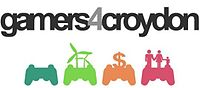 """Gamers 4 Croydon"" - The Gamers 4 Croydon logo"