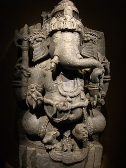 Ganesha statue, Asian Civilisations Museum Singapore - 20061231.jpg