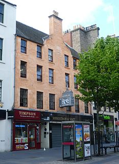 Gardynes Land, Dundee Complex of five buildings in the High Street, Dundee, Scotland