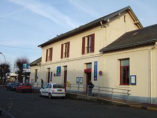 Saint-Michel-sur-Orge (Paris RER) railway station in Saint-Michel-sur-Orge, France