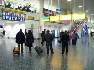 Gatwick South Terminal international arrivals ...