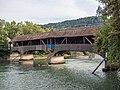 Gedeckte Holzbrücke über die Limmat, Untersiggenthal AG - Turgi AG 20180910-jag9889.jpg