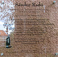 Gedenktafel Ilmenauer Str 2 (Schma) Sandor Rado.jpg