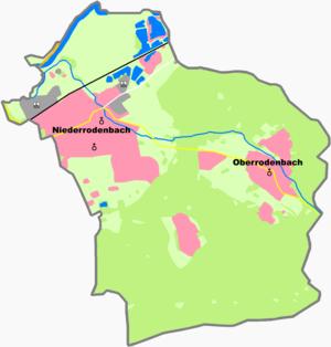 Rodenbach, Hesse - Constituent communities