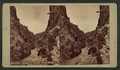 Gen. Grant's train, Royal Gorge, by Weitfle, Charles, 1836-1921.png
