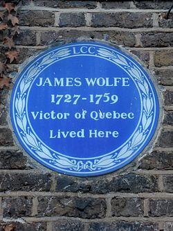 General james wolfe (1727 1759) victor of quebec lived here.