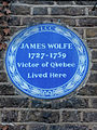 General James WOLFE (1727-1759) Victor of Quebec lived here..JPG