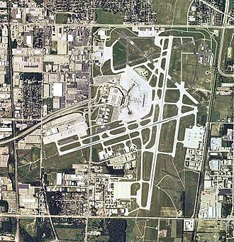 Milwaukee Mitchell International Airport - 2006 USGS Orthophoto