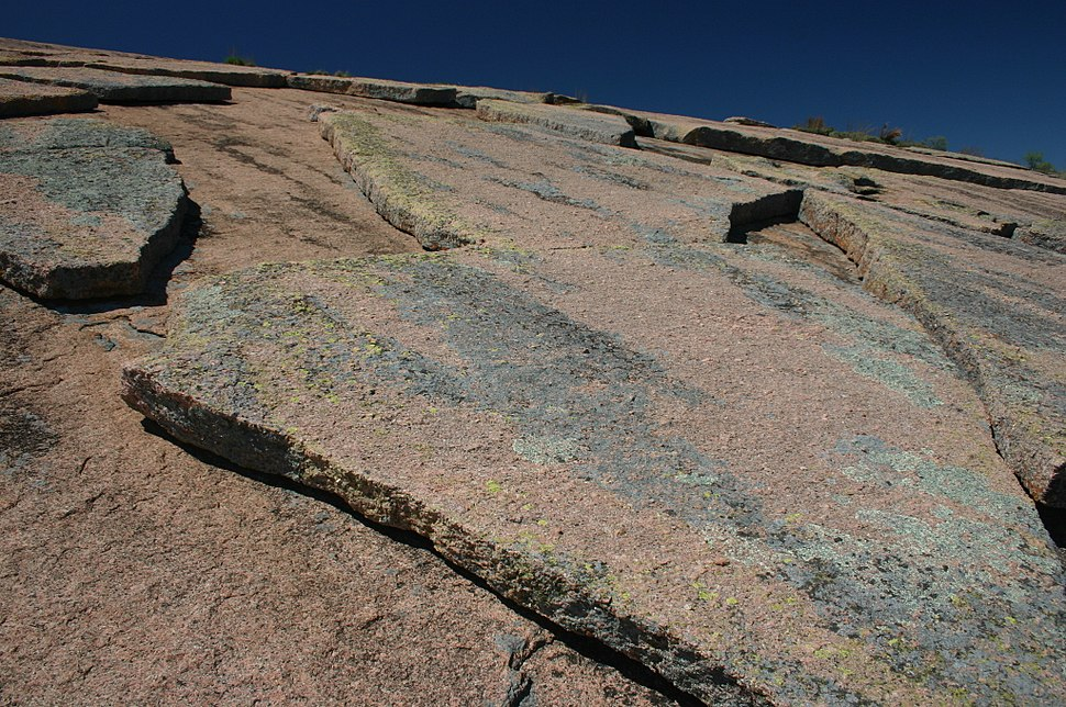 GeologicalExfoliationOfGraniteRock