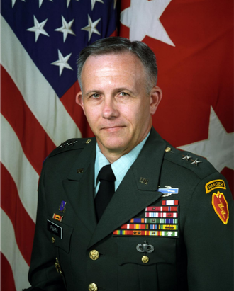 George A. Fisher Jr. - Fisher as commander of the 25th Infantry Division, circa 1993