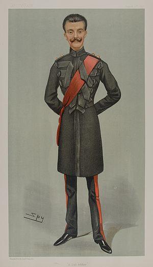 George Colborne Nugent - Vanity Fair caricature by Spy (Leslie Ward), 12 August 1897.