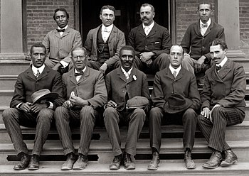 English: George Washington Carver (front row, ...