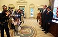 Georges W Bush with Sameer Mishra.jpg