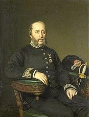 Gerard Johan Verloren van Themaat (1809-90). Lid van de Gedeputeerde Staten van Utrecht