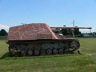 Panzerjäger - Nashorn