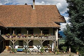 Gerzensee - The farm house at Rütimatt