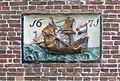 Gevelsteen (schip) A° 1671 nr. AB 7 - Hoogwoud - 20457451 - RCE.jpg