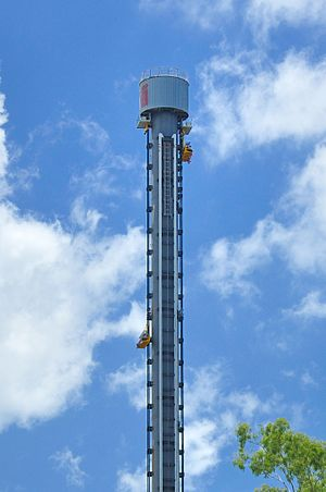 Drop tower - The Giant Drop at Dreamworld