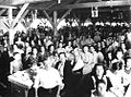 Gibraltar Evacuee Camp, Jamaica - At Lunch.jpg