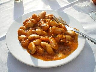 Gian beans Greek dish
