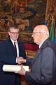 Giorgio Napolitano and Joseph H.H. Weiler (12769613725).jpg