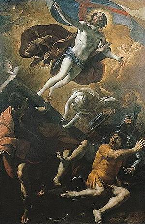 Giovanni Lanfranco - Giovanni Lanfranco, Resurrection, 1622