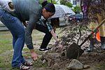 Girl Scouts promote environmental awareness, plant tree 140514-M-HJ625-015.jpg