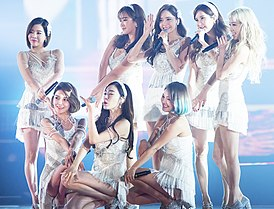 Girls' Generation at KBS Gayo Daechukje 2015 06.jpg
