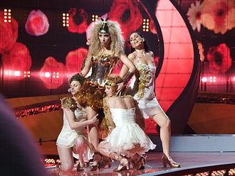 Andorra in the Eurovision Song Contest - Image: Gisela eurovision 2008
