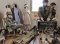Giverville, France. WW2 items and militaria from a commemorative exhibition on the liberation 1944. US Army uniforms, paramedic equipment, nurses, field telephone switchboard etc. 2015 -.jpg
