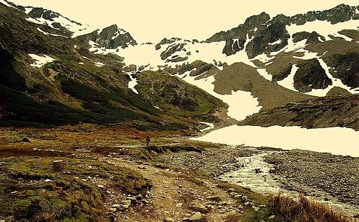 Glaciar Martial, Tierra del Fuego, Argentina - panoramio