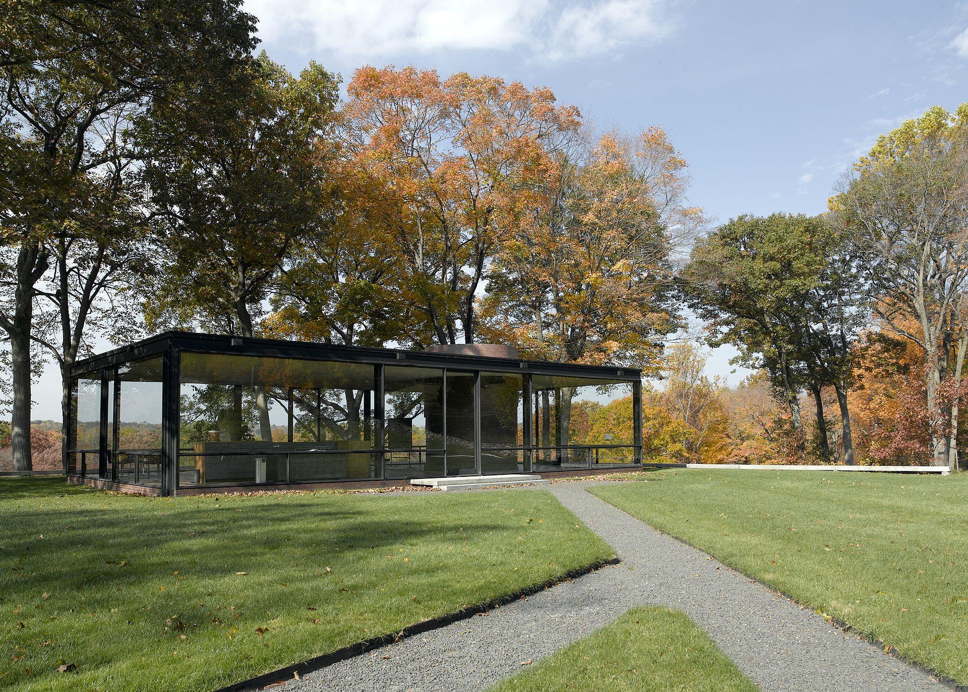 Glass House - Wikipedia - ^