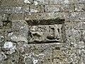 Glastonbury Tor stonework detail left.JPG