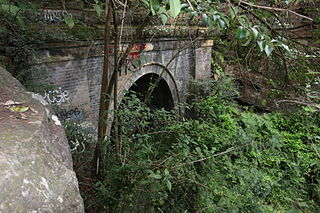 Glenbrook Tunnel railway tunnel in New South Wales, Australia