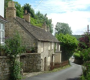 "W. H. Davies - Davies' last home ""Glendower"", Watledge Road, Nailsworth, Gloucestershire"