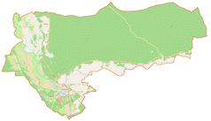 Mapa lokalizacyjna gminy Skwierzyna
