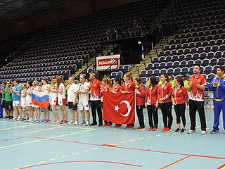 Turkey womens national goalball team Turkish national team, for the Paralympic sport of goalball
