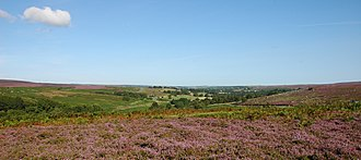 Goathland - Image: Goathland south heather